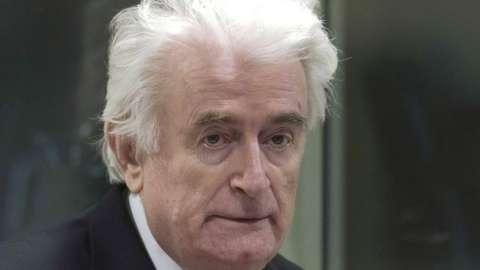 Radovan Karadzic in 2019