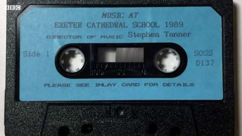 The 1989 cassette features Coldplay's Chris Martin