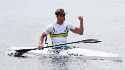 Australian paddler Curtis McGrath