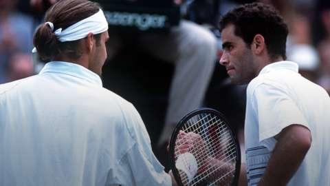 Federer and Sampras
