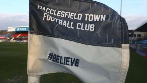 Macclesfield Town corner flag
