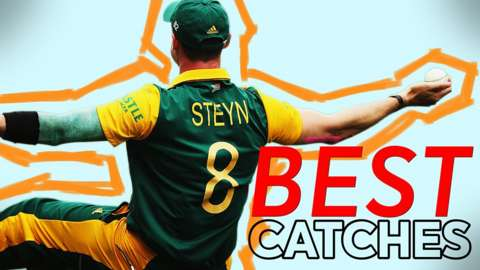 Dale Steyn is featured in Cricket World Cup's best catches