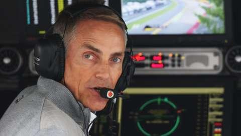 Former McLaren team boss Martin Whitmarsh