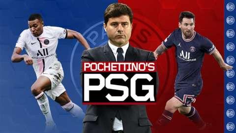 Mauricio Pochettino's Paris St-Germain
