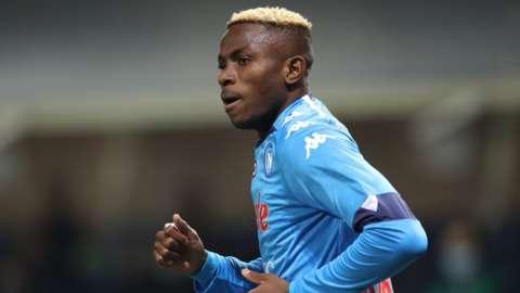 Napoli and Nigeria striker Victor Osimhen