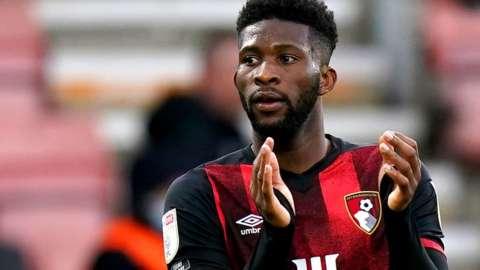 Bournemouth midfielder Jefferson Lerma