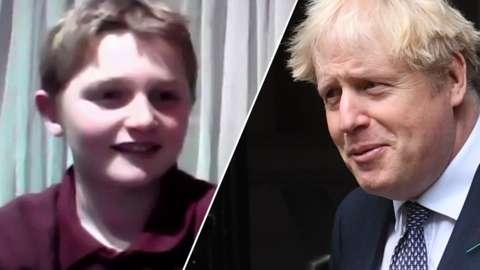 Split of Monti and Boris Johnson