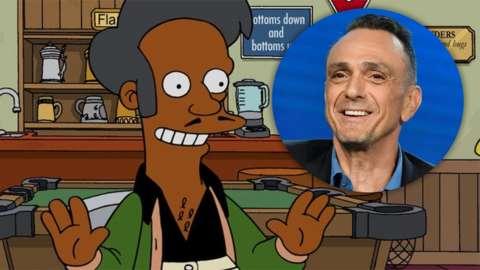 Apu and Hank Azaria
