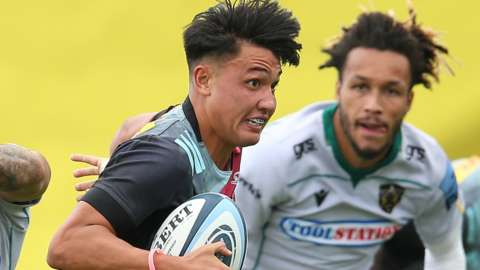 Marcus Smith in action for Harlequins