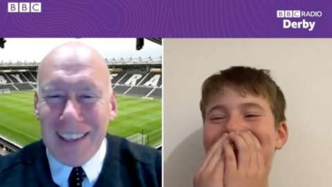 Mel Morris and Toby Hall
