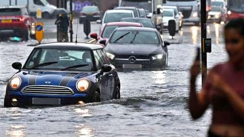London floods