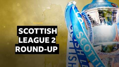 Scottish League Two round-up