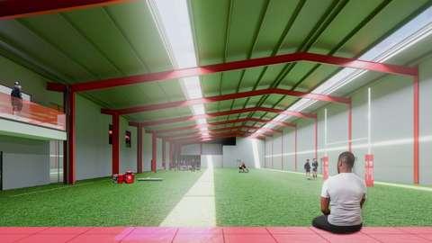 Indoor pitch