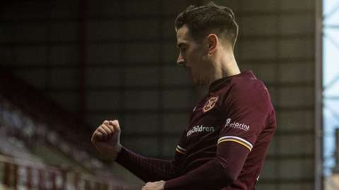 Hearts' Jamie Walker