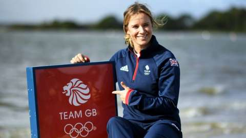 Hannah Mills was one of the first British athletes to be selected for the Tokyo Olympics.