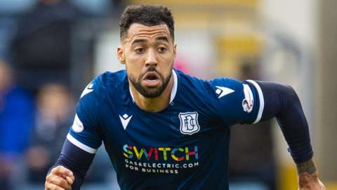 Kane Hemmings is leaving Dundee