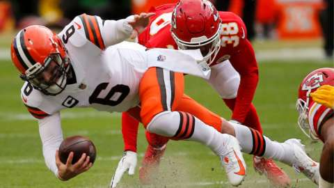 chiefs and browns