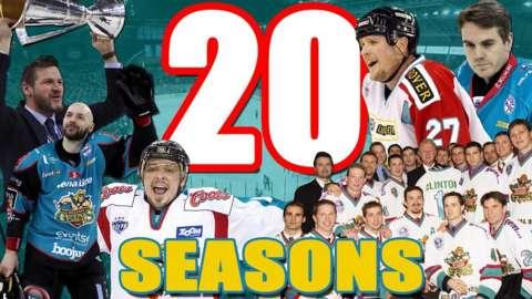 20 seasons of the Belfast Giants