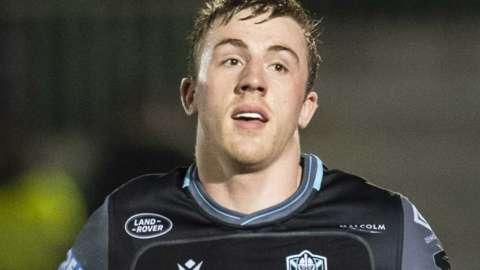 Glasgow Warriors' Bruce Lockhart