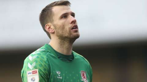 Marcus Bettinelli in action for Middlesbrough