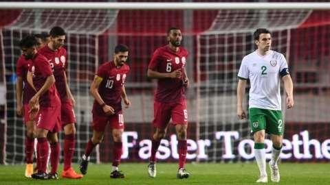 Qatar score