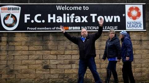 Halifax Town fans