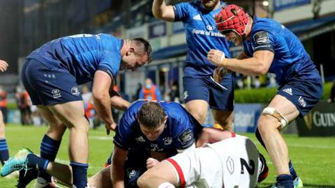 Leinster try