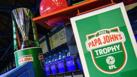 Papa John's Trophy draw