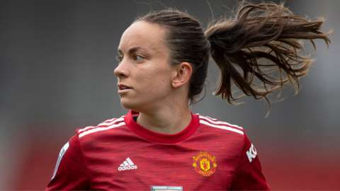 Man Utd's Lucy Staniforth