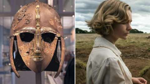 An ancient treasure and Carey Mulligan in new film The Dig.