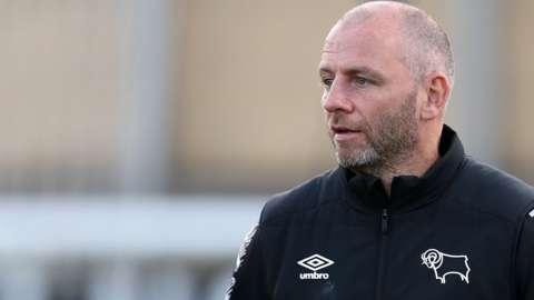 Derby County coach Pat Lyon