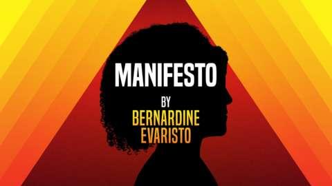 Manifesto by Bernadine Evaristo brand image