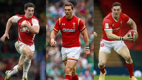 George North through the years