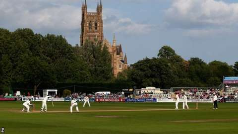 New Road, home of Worcestershire CCC