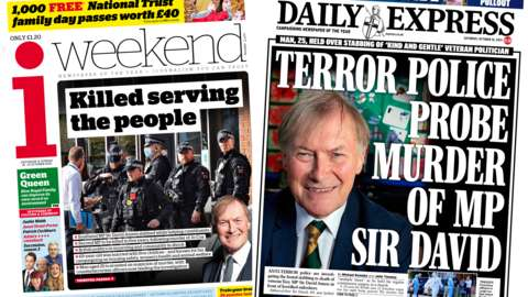 i weekend and Daily Express