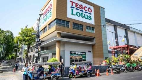 Tesco Lotus store in Thailand