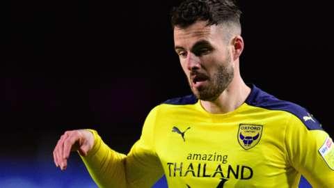 Oxford United midfielder Anthony Forde