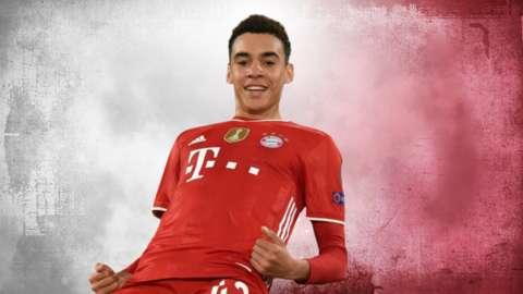 Bayern Munich's Musiala