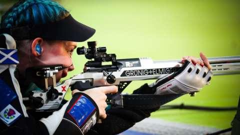World shooting champion Seonaid McIntosh
