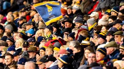 Worcester Warriors fans