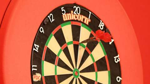 A general image of a darts board
