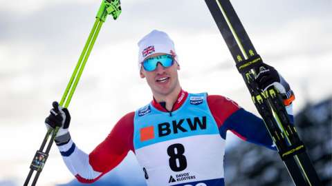 GB cross country skier Andrew Young