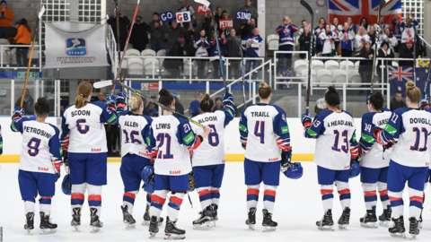Team GB women ice hockey