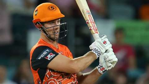 Mitchell Marsh in action for Perth Scorchers