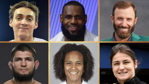 World Sport Star contenders