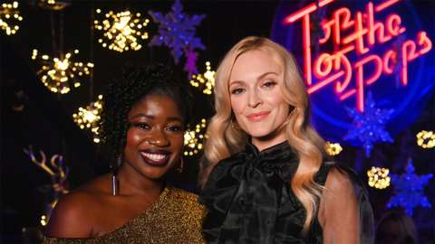 Clara Amfo and Fearne Cotton