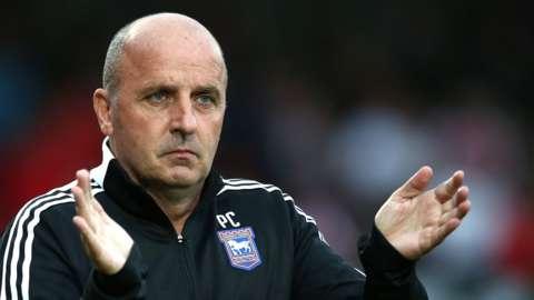 Ipswich boss Paul Cook.