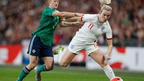 England's Lauren Hemp