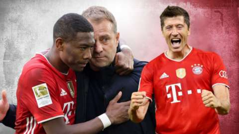 Bayern Munich are crowned champions of Germany for 2020-21 after nearest challengers RB Leipzig lose to Borussia Dortmund