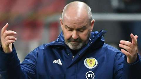 Scotland head coach Steve Clarke